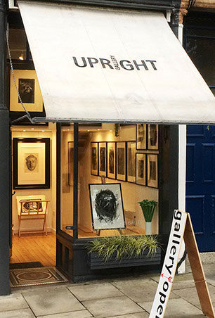 An image of the front of Upright Gallery in Bruntsfield Edinburgh.